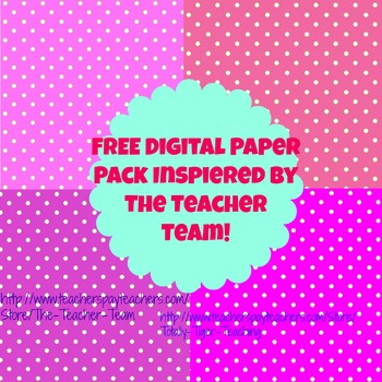 The Teacher Team Inspired Paper Mini Kit