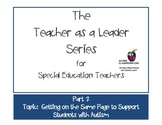 The Teacher as a Leader Series (Part 2: Getting on the Sam