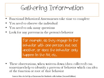 The Teacher as a Leader Series for Special Ed. (Part 5: Understanding Behaviors)