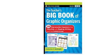 The Teacher's Big Book of Graphic Organizers: 100 Reproducible Organizers
