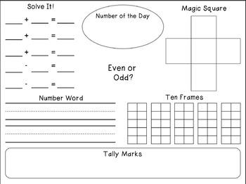 The Teacher's Desk: 1st Grade Printables & Activities