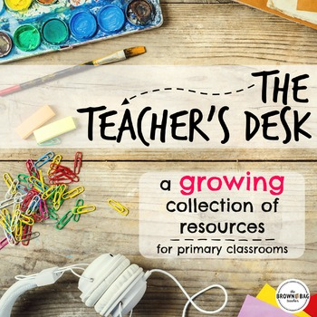 The Teacher's Desk: 1st Grade Printables & Activities