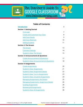 The Teacher's Guide to Google Classroom eBOOK! (BONUS: FREE Student Quick Guide)
