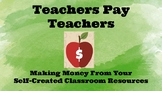 The Teachers Pay Teachers How to Sell Guide