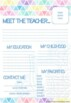 The Teacher's Planner