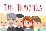 The Teachers - clip art files of the staff