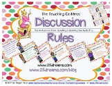 The Teaching Goddess' Discussion Rules Poster and Rules Re