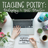 The Teaching Poetry eBook:  Pedagogy & Best Practice {Spring 2020 Edition}