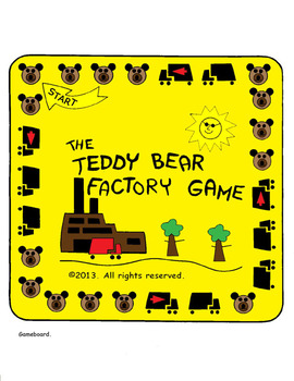 THE TEDDY BEAR FACTORY GAME. For kids 5 & up. Helps teach counting. PDF version.