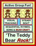 """The Teddy Bear Rock!"" - Group Game and Craft for Sequential Movements"