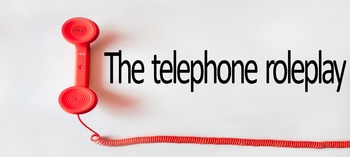 The Telephone roleplay: Teaching TEFL/ESL