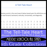 The Tell-Tale Heart - Alternative Assignments: Crossword,