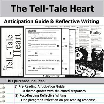 The Tell-Tale Heart - Anticipation Guide & Reflection