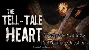 The Tell Tale Heart: Anticipation Guide and Pre Reading Questions