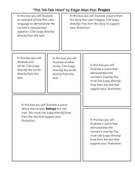 The Tell-Tale Heart Comic Project