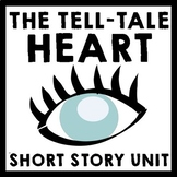 Tell-Tale Heart by Edgar Allan Poe - 8 Day Common Core Ali
