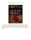 The Tell-Tale Heart Court Case (Unreliable vs. Reliable Author)