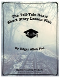 Lesson: The Tell-Tale Heart by Edgar Allan Poe Lesson Plan, Worksheets, Key, PPT