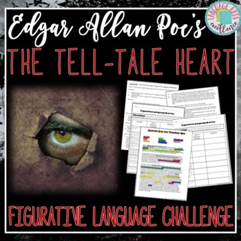 The Tell-Tale Heart Figurative Language Challenge Activity