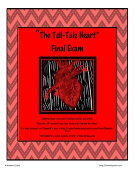 The Tell Tale Heart Final Exam Test
