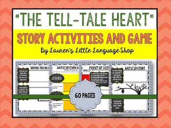 """""""The Tale-Tell Heart"""" Activity Bundle"""