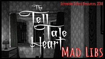 The Tell Tale Heart Mad Libs: A FUN Twist on the Literary Classic!