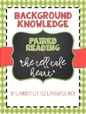 The Tell-Tale Heart : Paired Reading for Background Knowledge