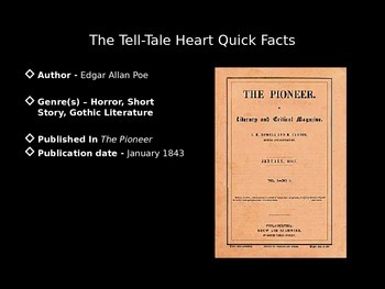 The Tell Tale Heart PowerPoint
