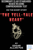 The Tell-Tale Heart Reading Comprehension Test Quiz and Es
