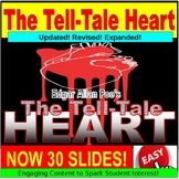 The Tell Tale Heart Lesson : Short Story PowerPoint, Google Slides