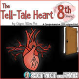 Tell-Tale Heart Activities & Assessments (Test) by Poe Short Story Unit