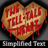 The Tell-Tale Heart Simplified Text for Struggling Readers