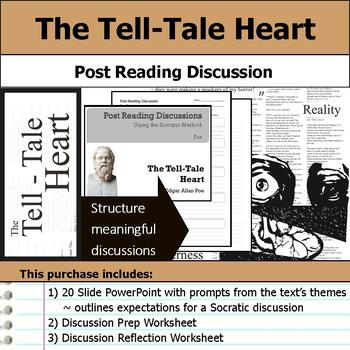 The Tell-Tale Heart - Socratic Method - Post Reading Discussions