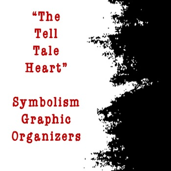 The Tell Tale Heart Symbolism Graphic Organizers Hs Edition By Omega