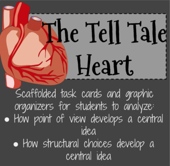 The Tell Tale Heart - Task Cards for Point of View and Structural Choices