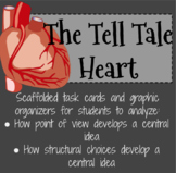 The Tell Tale Heart - Task Cards for Point of View and Str