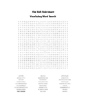 The Tell-Tale Heart Vocabulary Word Search - Poe