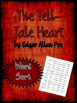 The Tell-Tale Heart Word Sort