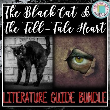 The Tell-Tale Heart and The Black Cat Literature Guides {{