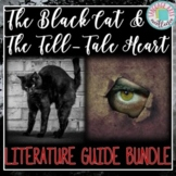 The Tell-Tale Heart & The Black Cat Literature Guides {{BUNDLE!}}