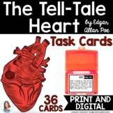 """The Tell-Tale Heart"" by Edgar Allan Poe Task Cards"