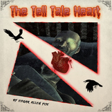 The Tell Tale Heart by Edgar Allan Poe - Comic Book