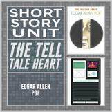 The Tell Tale Heart by Edgar Allen Poe Digital Short Story Unit