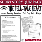 The Tell-Tale Heart Short Story by Poe: Common Core ELA Te