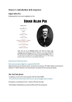The Tell-Tale Heart by Poe (various types of document)