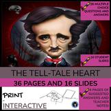 Tell-Tale Heart by Edgar Allan Poe (test; essay questions;
