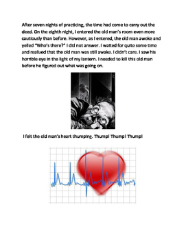 The Telltale Heart by Edgar Allen Poe- Modified