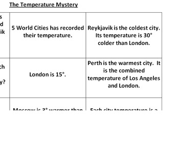The Temperature Mystery