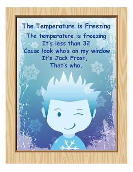 COLD DAYS: The Temperature is Freezing