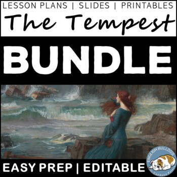 The Tempest Activity Mini Bundle